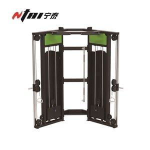 Functional Trainer Cable Machine for Sale, Buy Dual Adjustable Pulley Online