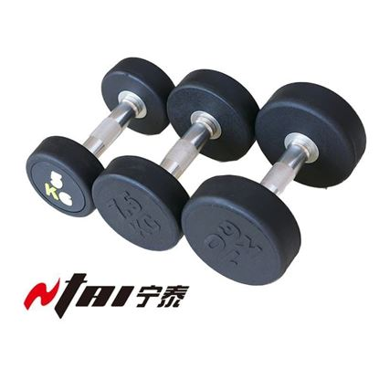 Fixed Rubber Dumbbells for Sale at Wholesale Prices