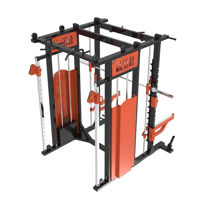 Smith Machine Power Rack Cable Crossover Combo for Sale
