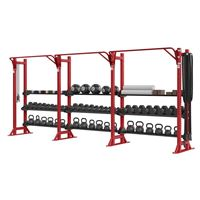 Hammer Strength HD Athletic Perimeter Rack & Storage