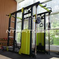 Half Rack / Dual Adjustable Pulley Combo for Sale