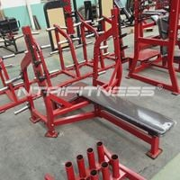 Hammer Strength Olympic Bench Weight Storage For Sale