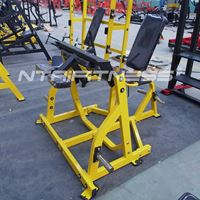 Hammer Strength Plate-Loaded Seated Leg Curl For Sale