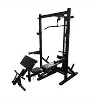 Half Rack with Lat Pulldown for Sale